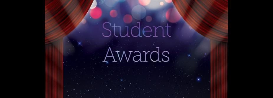 Student awards graphic